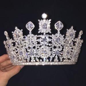 Ювелирная корона «Мирабель» 9 см