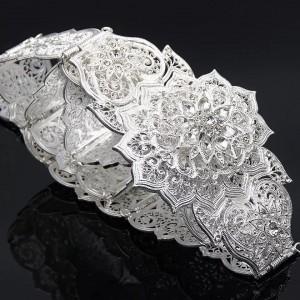 Пояс с кристаллами «Звездная ночь» 9 см