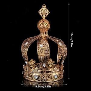 Корона полного круга Gold «Дар»18 см