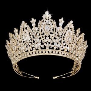 Ювелирная корона Gold «Аманда» 9 см