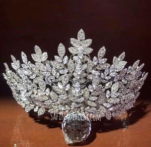Ювелирная корона ручной работы «Эмилия»