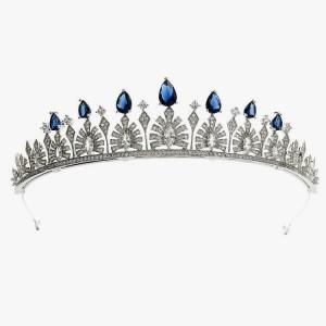 Ювелирная тиара «Sapphire» 3,5 см