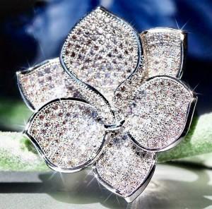 Ювелирное кольцо «Орхидея»