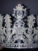 Ювелирная корона «Жанна» 13 см