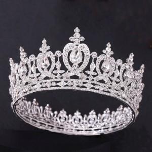 Корона полного круга «Дафна» 6 см
