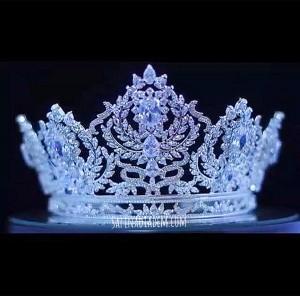 Ювелирная корона «Линда» 9 см