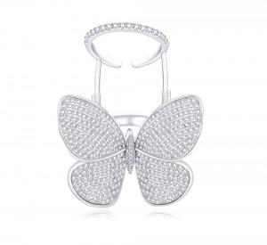 Ювелирное кольцо бабочка