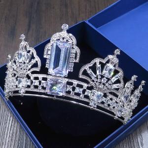 """Ювелирная корона """"Багет"""" 7 см Под Заказ"""