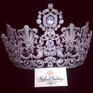 """Ювелирная корона """"Cartier"""" 11 см Скоро в наличии!"""